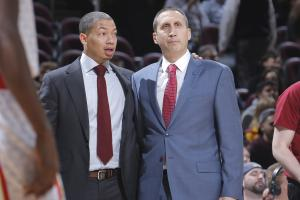 Blatt offered support to Lue during playoffs