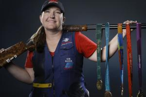 Shooter Kim Rhode qualifies for sixth Olympic team