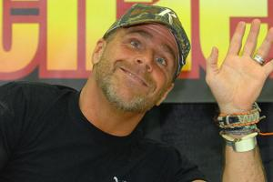 Shawn Michaels takes in Bolts-Pens Game 5