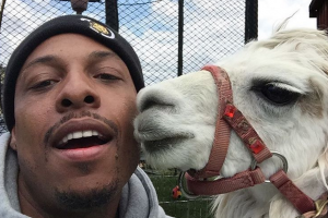 Paul Pierce gets daughter llama for her birthday