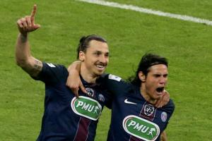 Watch: Ibrahimovic scores twice in final PSG match