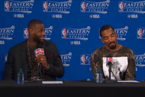 J.R. Smith says threes are inspired by video game