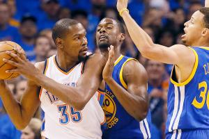 Warriors crumble in Game 3 loss against Thunder