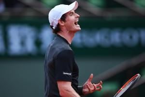 Andy Murray avoids French Open first round upset