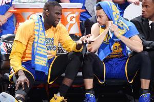 Green's groin shot has Warriors hurting in finals