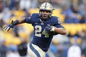 james conner pittsburgh panthers cancer free