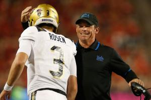 Mora warns Josh Rosen of becoming Johnny Manziel