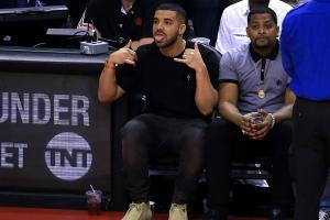 Drake talked a ton of trash after the Raptors' win