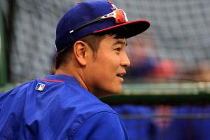 shin soo choo hamstring injury disabled list rangers