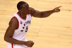 Apparently, Mutombo never let Biyombo finger-wag