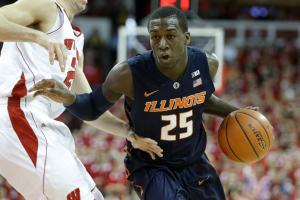 Illinois' Kendrick Nunn dismissed from team