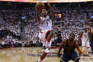 Lowry, DeRozan lead Raptors to series-tying win
