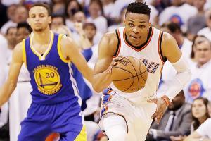 Warriors struggle again with Thunder's firepower