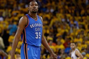 Kevin Durant on foot injury: 'I was scared'