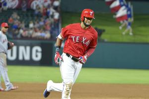 Nomar Mazara hits longest homer of season