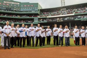 Red Sox honor 30th anniversary of 1986 AL pennant