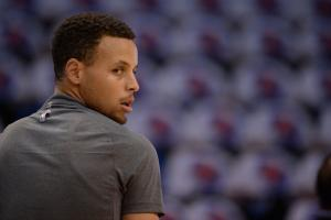 Report: Stephen Curry not 100 percent healthy