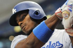 Puig benched after watching his home run