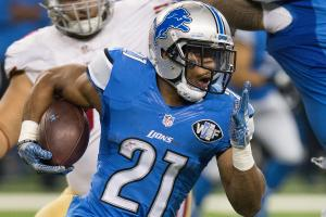 Ameer Abdullah (shoulder) may miss workouts