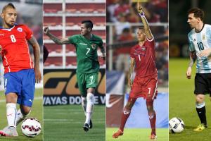 Copa America Group D: Chile, Argentina, Bolivia, Panama