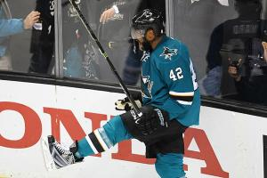 Ward leads way for Sharks in Game 6 victory