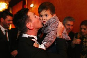 Messi describes typical day as father of two