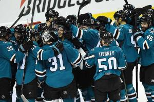Sharks beat Blues to reach first Stanley Cup Final