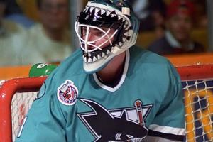 Brian Hayward of the San Jose Sharks
