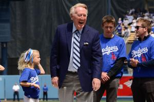 Vin Scully talks about some fish