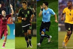 Mexico, Uruguay, Jamaica, Venezuela play in Copa America's Group C