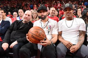 Jose Bautista wants a ticket to the Raptors game