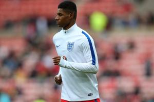 Watch: Marcus Rashford scores in England debut