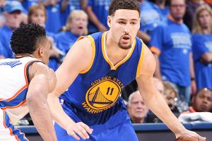 Klay Thompson hits playoff-record 11 threes