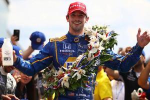 Indy 500 winner Alexander Rossi