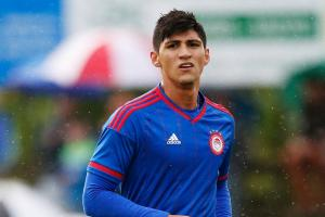 Olympiacos striker Alan Pulido kidnapped in Mexico