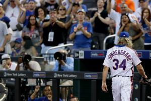 Mets' Syndergaard could pitch out of bullpen