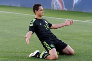 Mexico forward Javier