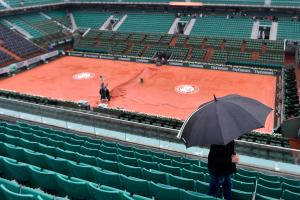 Monday French Open matches canceled for rain