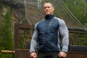 John Cena wearing 'Ellen' shorts for 'Raw' retu...