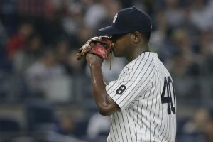 Yankees option Severino to Triple A after DL stint