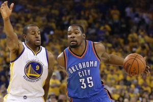 Iguodala: It must be fun playing with Kevin Durant