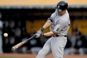 Yankees' Dustin Ackley out for year (torn labrum)