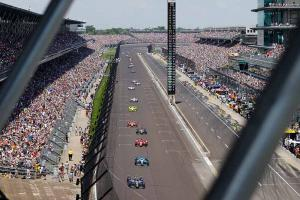 View of Indianapolis Speedway during 2016 Indy 500