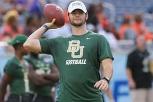 Baylor QB Jarrett Stidham to remain with team