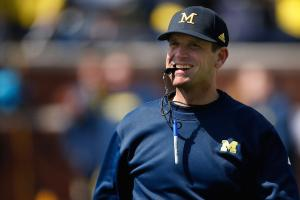 Jim Harbaugh criticizes Nick Saban on Twitter