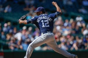 Watch: Bethancourt throws eephus pitch during rout