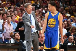 Steve Kerr on Steph Curry: 'He looks like he's 12�...