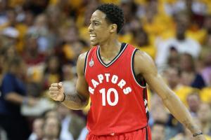 Raptors looking to re-sign Demar DeRozan
