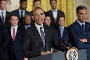 Obama calls Villanova 'a team for the ages'