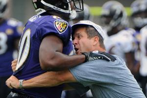 John Harbaugh and other NFL coaches typically like to get as much on-field teaching time with players as they can get.